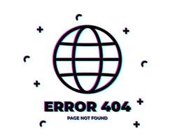 Error 404 Glitch planet