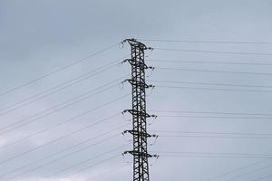 An electricity tower for electricity supply