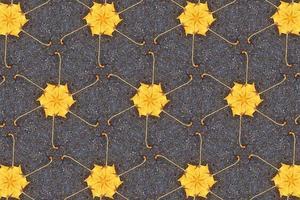un fondo texturizado abstracto amarillo