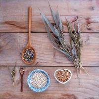 Whole grains and millet cob photo