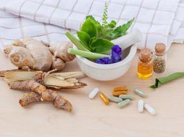 Herbal tea medicine