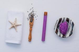 Homemade lavender skin care