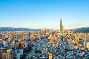 Taipei 101 tower in Taipei city, Taiwan