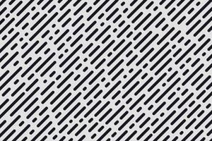 Abstract minimal design diagonal stripe and round lines pattern. Simple black and white texture. Design element for prints, web, template and textile pattern. Vector illustration