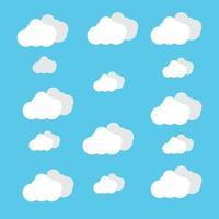Cloud images illustration