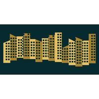 City skyline images illustration vector