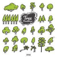 Tree icon vector. vector