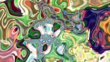 fundo movente multicolorido abstrato video
