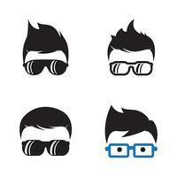 Geek logo images vector