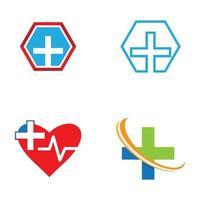Medical care logo images