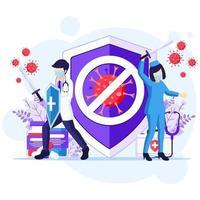 luchar contra el concepto de virus vector