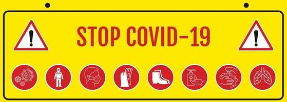 coronavirus covid 19. detener el coronavirus.