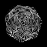 Geometric lines design elements. vector