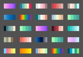 New gradient trend. Perfect colors for design. Vector. vector
