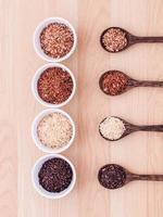 Collection of whole grains