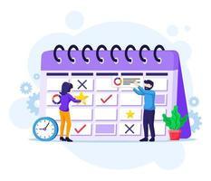 concepto de planificación empresarial vector