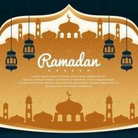 Ramadan Kareem Vector Background