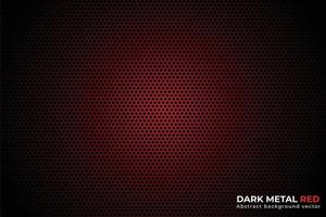 Abstract Metal Red and black Design vector