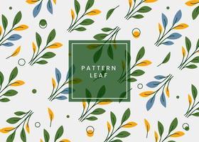 Fondo de patrón de flores moderno listo para imprimir.