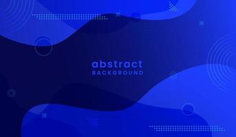 fondo abstracto colorido en estilo fluido vector