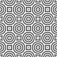Abstract seamless circle shapes pattern. Abstract geometric pattern for various design purposes. vector