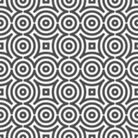 Abstract seamless curve  circle shapes pattern. Abstract geometric pattern for various design purposes. vector