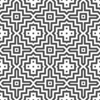 Abstract seamless dot square shapes pattern. Abstract geometric pattern for various design purposes. vector