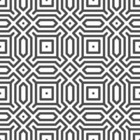 Abstract seamless octagon hexagon square shapes pattern. Abstract geometric pattern for various design purposes. vector