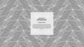 Abstract geometric lines pattern vector