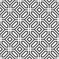 Abstract seamless octagonal hexagon square dot shapes pattern. Abstract geometric pattern for various design purposes. vector