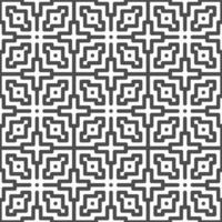 Abstract seamless cross dot square shapes pattern. Abstract geometric pattern for various design purposes. vector