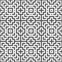Abstract seamless cross square shapes pattern. Abstract geometric pattern for various design purposes. vector