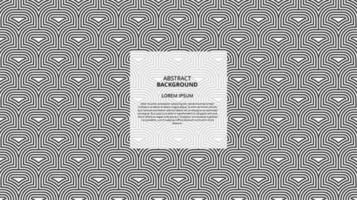 Abstract seamless curvy shape lines pattern vector