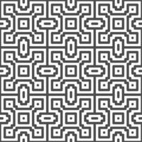 Abstract seamless dot square zigzag shapes pattern. Abstract geometric pattern for various design purposes.