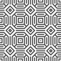 Abstract seamless octagon hexagon square shapes pattern. Abstract geometric pattern for various design purposes.