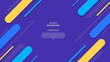 Abstract flat diagonal geometric shapes background vector