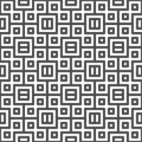Abstract seamless centered square shapes pattern. Abstract geometric pattern for various design purposes.