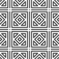 Abstract seamless rotated square shapes pattern. Abstract geometric pattern for various design purposes. vector