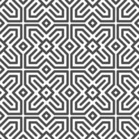 Abstract seamless hexagonal arabic star square shapes pattern. Abstract geometric pattern for various design purposes.