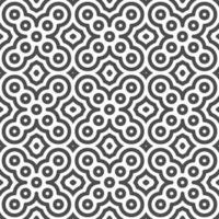 Abstract seamless diagonal curvy circular shapes pattern. Abstract geometric pattern for various design purposes. vector