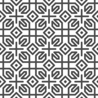 Abstract seamless hexagonal cross square shapes pattern. Abstract geometric pattern for various design purposes. vector