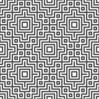patrón de formas cuadradas centradas sin fisuras abstractas. patrón geométrico abstracto para diversos fines de diseño. vector