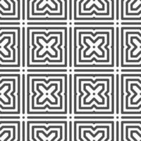 Abstract seamless hexagonal cross shapes pattern. Abstract geometric pattern for various design purposes. vector