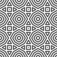 Abstract seamless octagonal square triangle shapes pattern. Abstract geometric pattern for various design purposes.