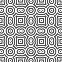 Abstract seamless curvy circle dot shapes pattern. Abstract geometric pattern for various design purposes. vector