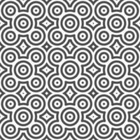 Abstract seamless centered dot circle shapes pattern. Abstract geometric pattern for various design purposes.