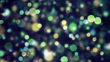 Círculos de colores psicodélico fondo abstracto vj
