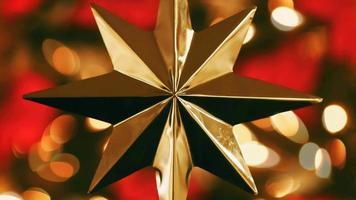 lazo de movimiento sin fisuras de adorno navideño