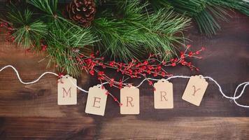 feriado de natal feliz pinho movimento loop sem costura