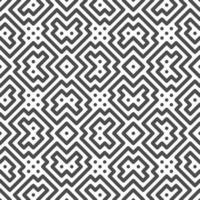 Abstract seamless rotated symmetrical square shapes pattern. Abstract geometric pattern for various design purposes. vector